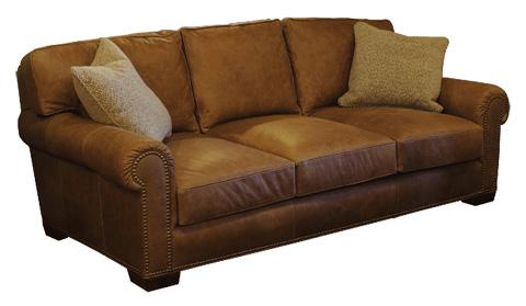 Stanford - Junaluska Three Cushion Sofa - 1437-395