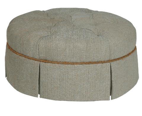 Stanford - Petigrew Large Round Ottoman - 1682-04