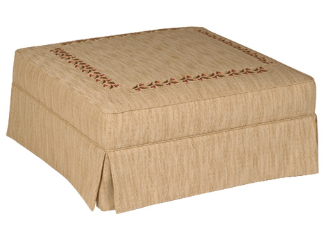 Stanford - Riffle Large Table Ottoman - 1988-02