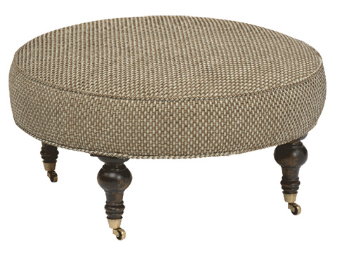 Stanford - Chisolm Large Round Ottoman - 1995-04