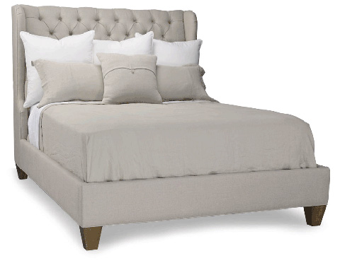 Stanford - Kristin King Tufted Bed - J801-81BT