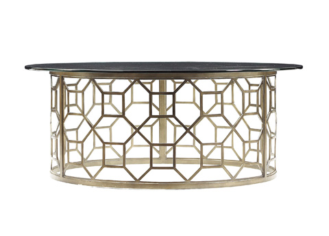 Stanley Furniture - Roxy Round Glass Cocktail Table - 193-15-01