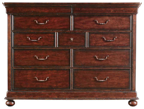 Image of Dressing Chest with Landscape Mirror