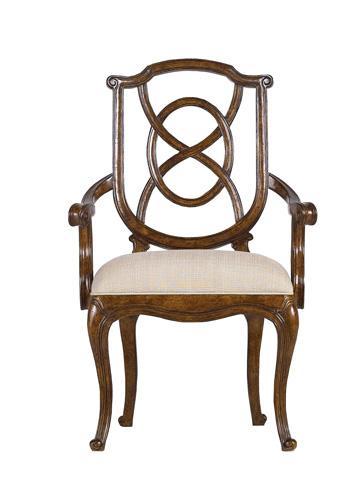 Stanley Furniture - Tuileries Heirloom Cherry Arm Chair - 222-11-70