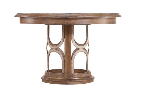 Image of Monserrat Round Pedestal Table