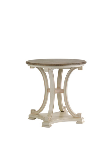 Image of Myrtle Lamp Table - Orchid