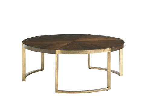 Image of Autry Round Cocktail Table