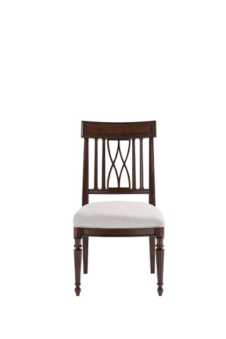 Image of Lucca Side Chair in Mottled Walnut