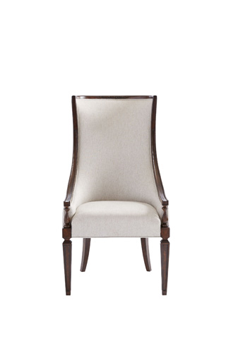 Image of Matteo Host Chair in Mottled Walnut