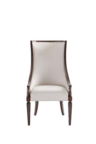 Image of Matteo Host Chair in Mottled Walnut