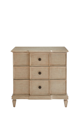 Image of Lucio Nightstand in Glaze