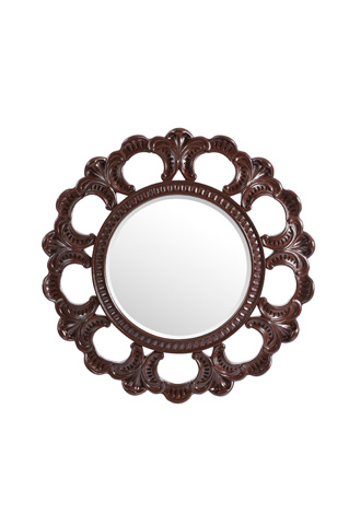 Image of Aurora Mirror in Pomegranate