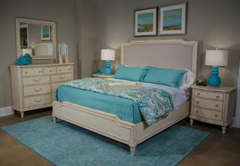 Image of European Cottage Collection Queen Bedroom Set