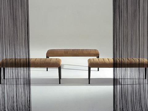 Stone International - Channel Seat Bench - 0609