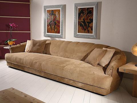 Stone International - Long One Cushion Sofa - 0879/L