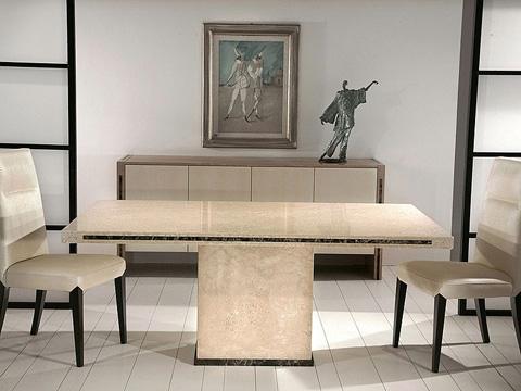 Stone International - Rectangular Dining Table - 3646