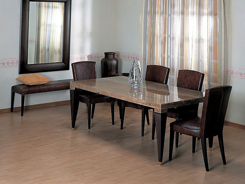 Stone International - Dining Table - 9386