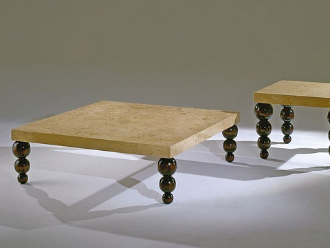 Stone International - Square Cocktail Table - 9390