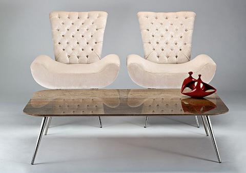 Stone International - Rectangular Cocktail Table - 3312/R