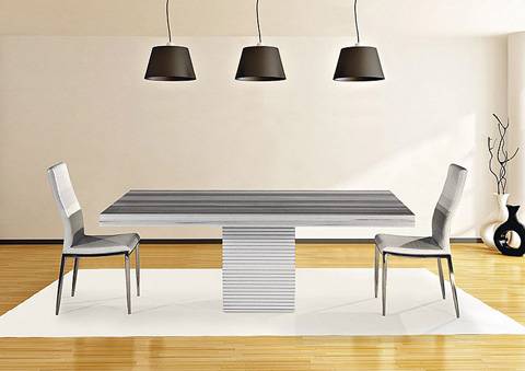 Stone International - Dining Table - 8046