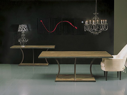 Stone International - Dining Table - 8096