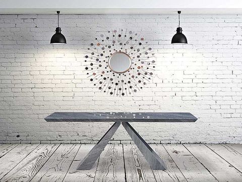 Stone International - Console Table - 9584/L