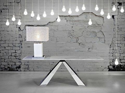 Stone International - Rectangular Cocktail Table - 9782