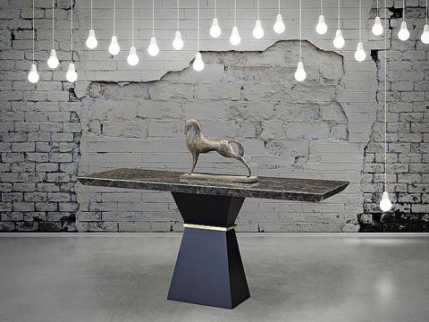 Stone International - Console Table - 9984