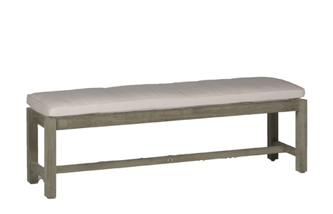 Summer Classics - Club Teak Backless Bench - 285415