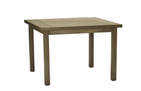 Summer Classics - Club Aluminum Square Dining Table - 3332