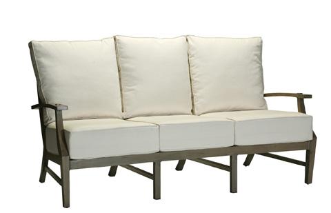 Summer Classics - Croquet Aluminum Sofa - 3335