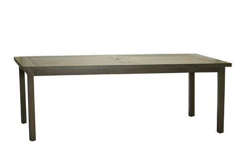 Summer Classics - Club Aluminum Rectangular Dining Table - 3342