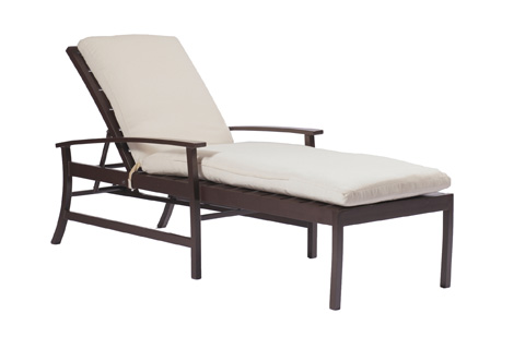 Summer Classics - Charleston Chaise Lounge - 3673
