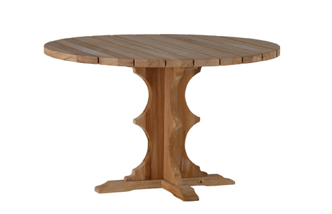 Summer Classics - French Teak Round Dining Table - 28264