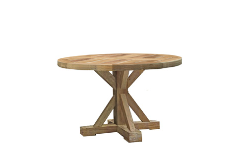 Summer Classics - Modena Teak Round Dining Table - 28714