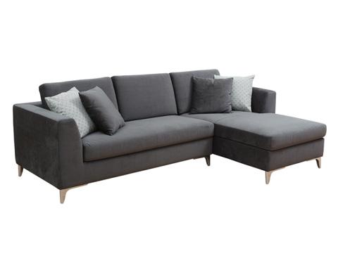 Sunpan Modern Home - Virgilio Sofa with Chaise - 100583