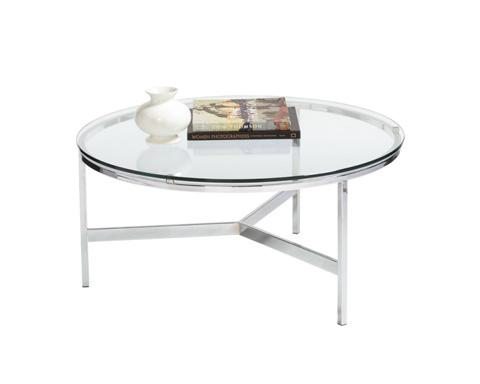 Sunpan Modern Home - Flato Round Coffee Table - 69890