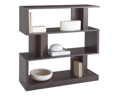 Sunpan Modern Home - Morrissey Bookshelf in Espresso - 80211