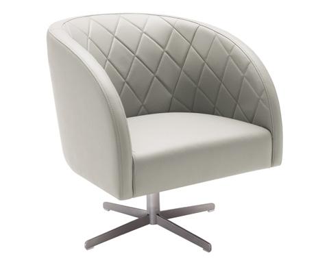 Sunpan Modern Home - Boulevard Swivel Chair - 88038