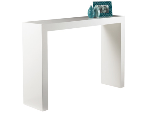 Sunpan Modern Home - Arch Console Table in White - 89586