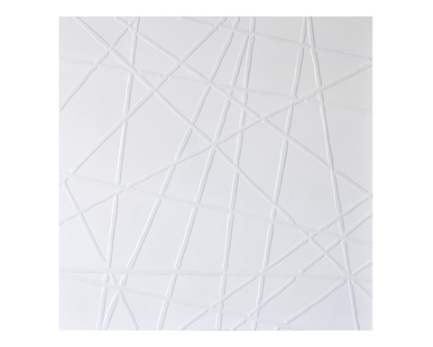 Sunpan Modern Home - White Web Art - A0066