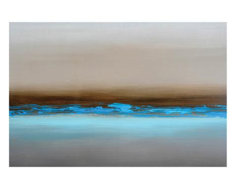 Sunpan Modern Home - Blue Mist Art - A0086