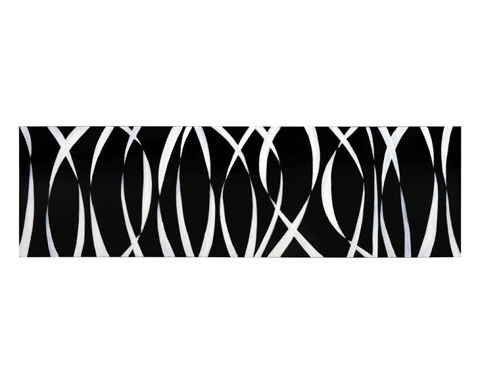 Sunpan Modern Home - White Ribbons Art - A0111