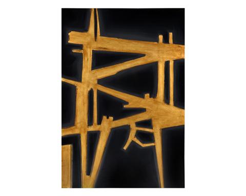 Sunpan Modern Home - Gold Fever Art - A0131