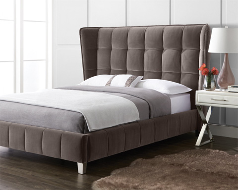 Sunpan Modern Home - Cadam Queen Bed - 100872