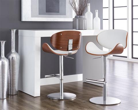 Sunpan Modern Home - Bowen Adjustable Barstool - 101219