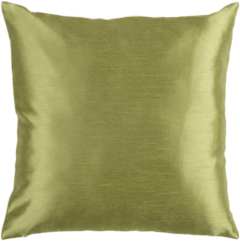 Surya - Olive Polyester Accent Pillow with Down Filler - HH043-1818D