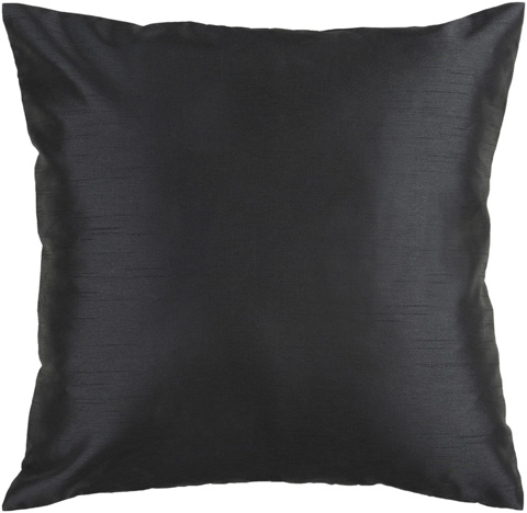 Surya - Ebony Polyester Accent Pillow with Down Filler - HH037-1818D
