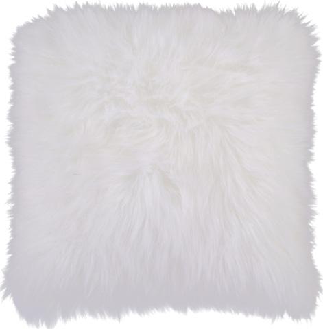 Surya - Ivory 20 x 20 Shag Pillow - P0257-2020D