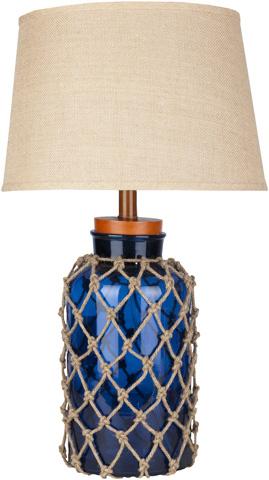 Surya - Amalfi Blue Table Lamp - FTL-7000